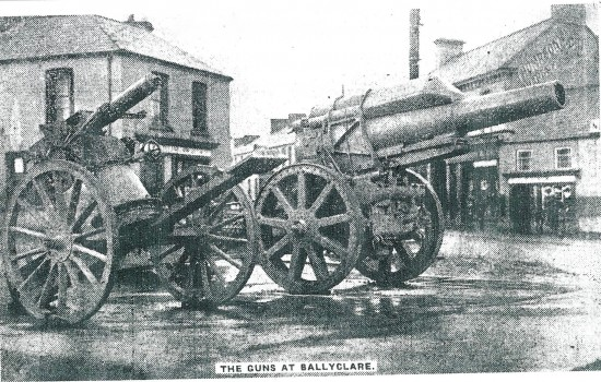 The Mysterious Disappearance of Ballyclare's German Artillery Guns